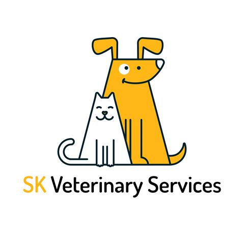 SK Veterinary Services Logo